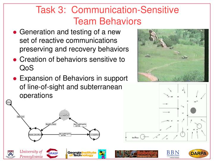 Task 3:  Communication-Sensitive