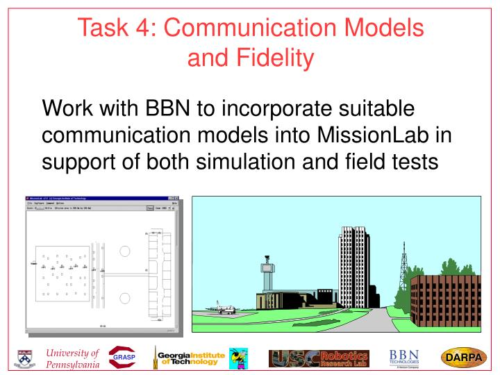 Task 4: Communication Models