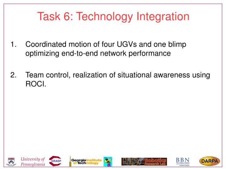 Task 6: Technology Integration