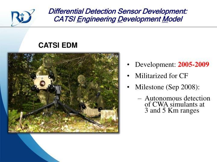 Differential Detection Sensor Development: