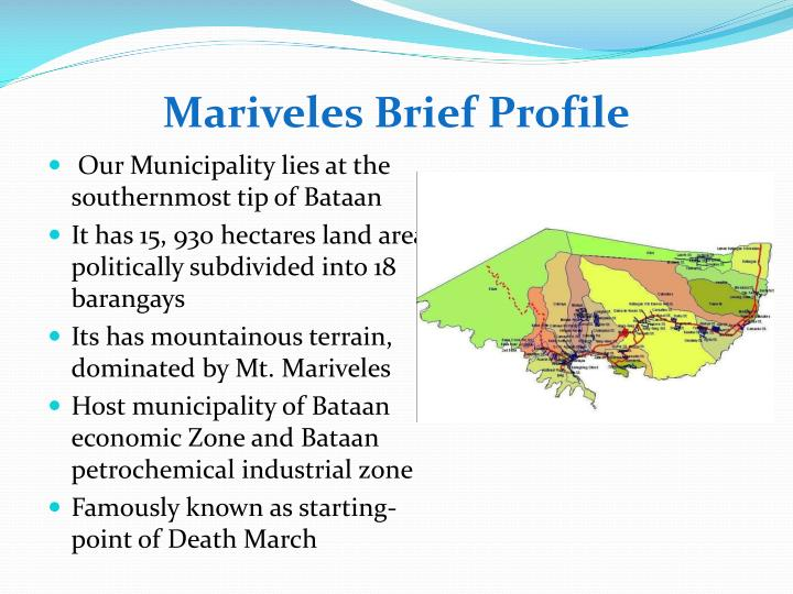 Mariveles brief profile