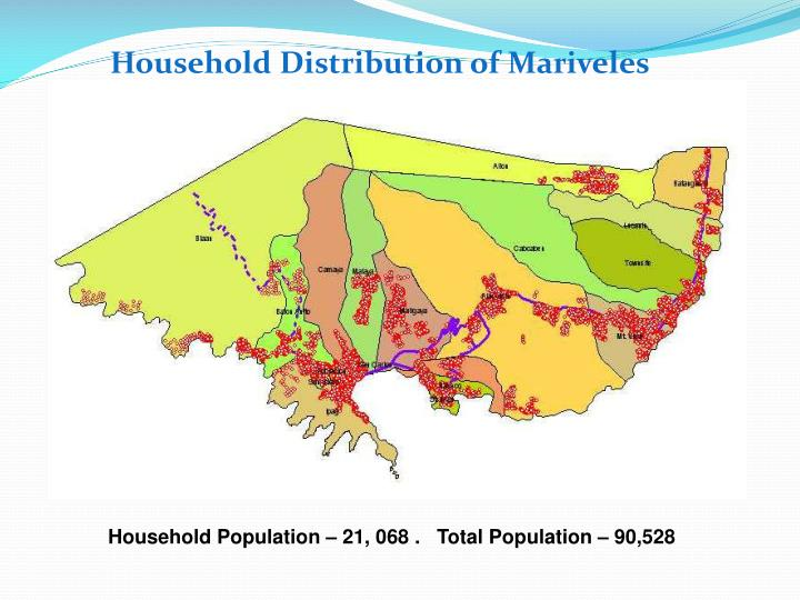 Household Distribution of Mariveles