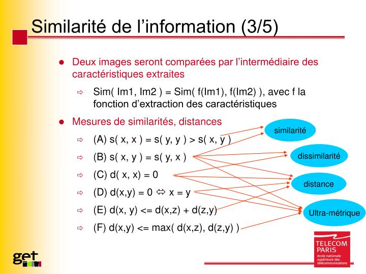 Similarité de l'information (3/5)