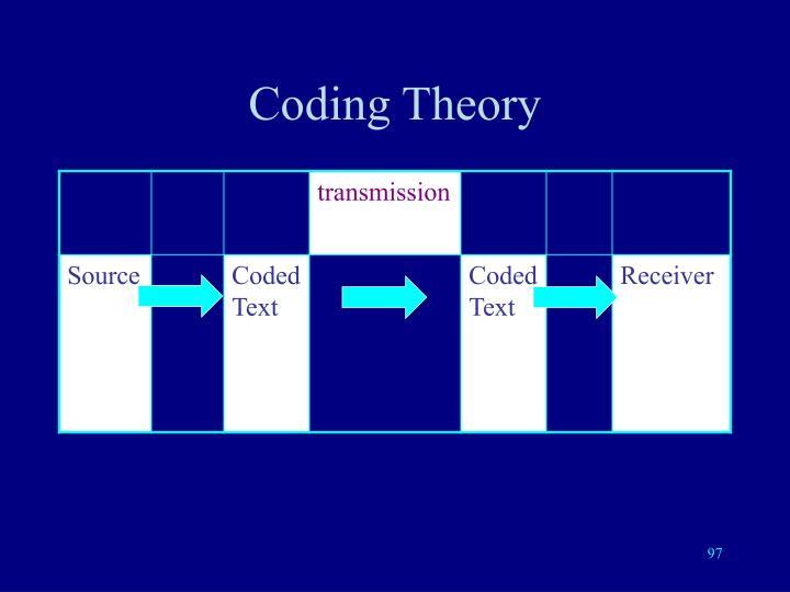 Coding Theory