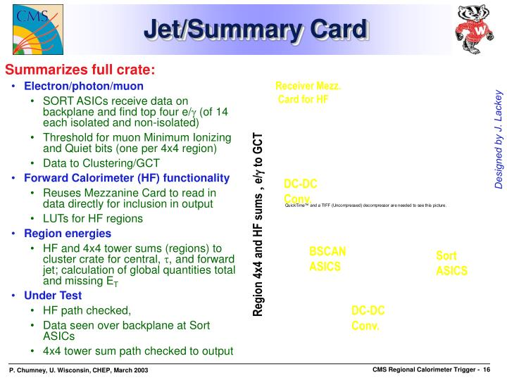 Jet/Summary Card