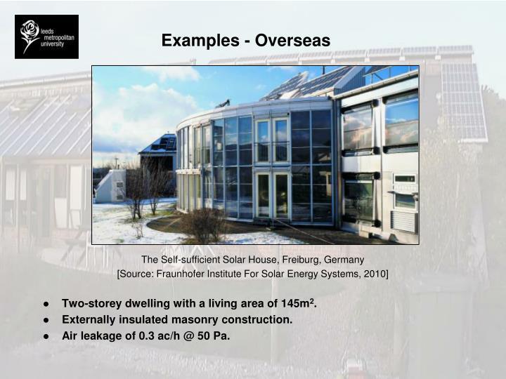 Examples - Overseas