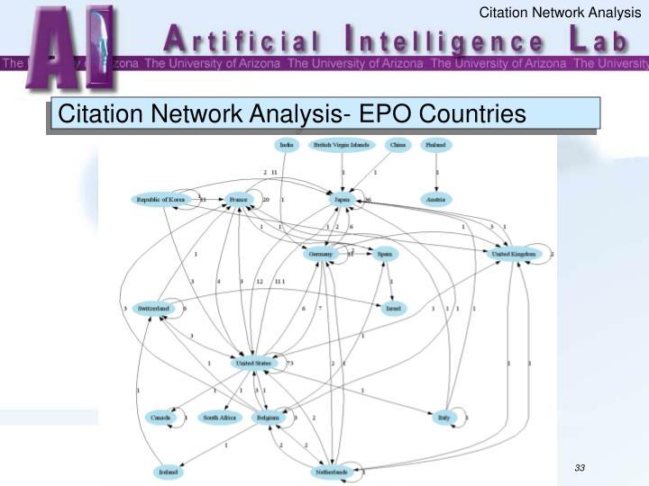 Citation Network Analysis