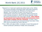 world bank 5 2011