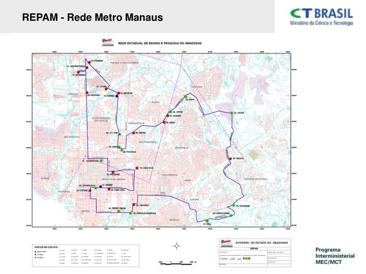 REPAM - Rede Metro Manaus