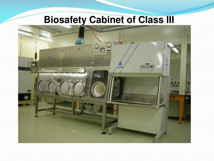 Biosafety Cabinet of Class III