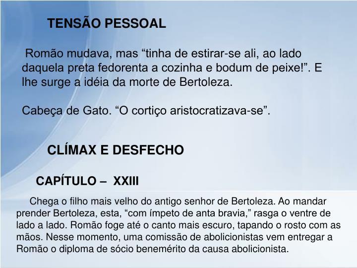 TENSÃO PESSOAL