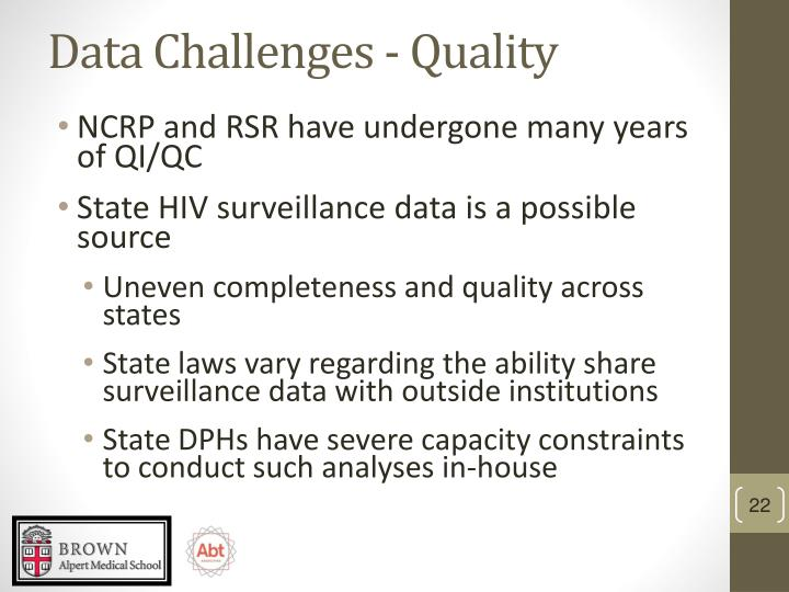 Data Challenges - Quality
