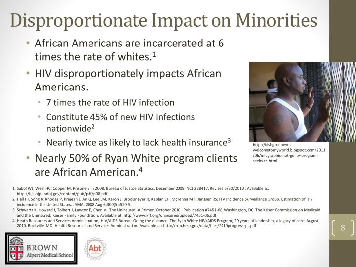 Disproportionate Impact on Minorities