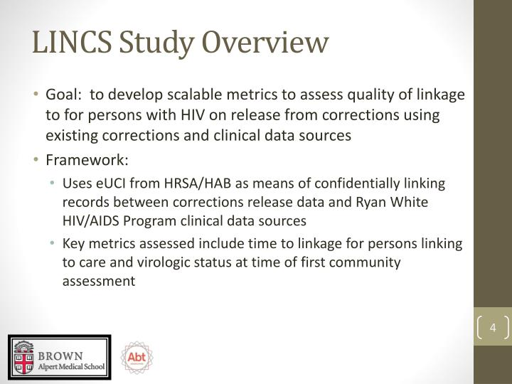 LINCS Study Overview