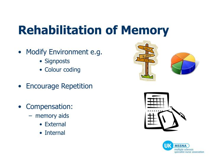 Rehabilitation of Memory