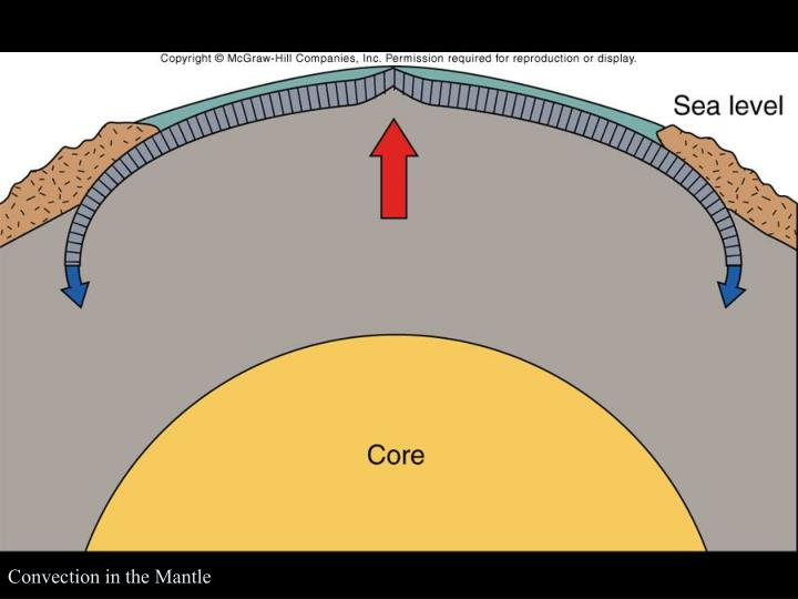 Convection in the Mantle