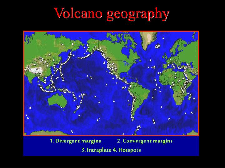 Volcano geography