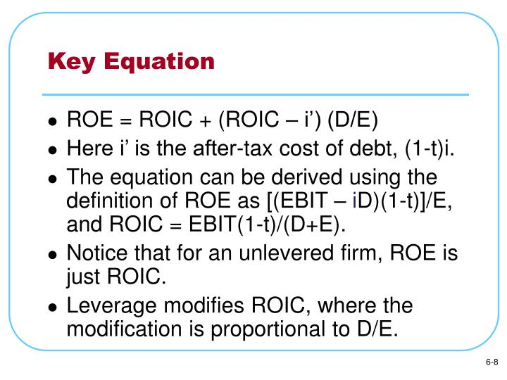 Key Equation
