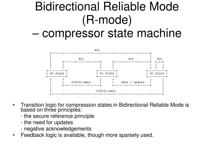 Bidirectional Reliable Mode