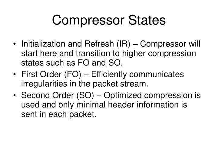 Compressor States