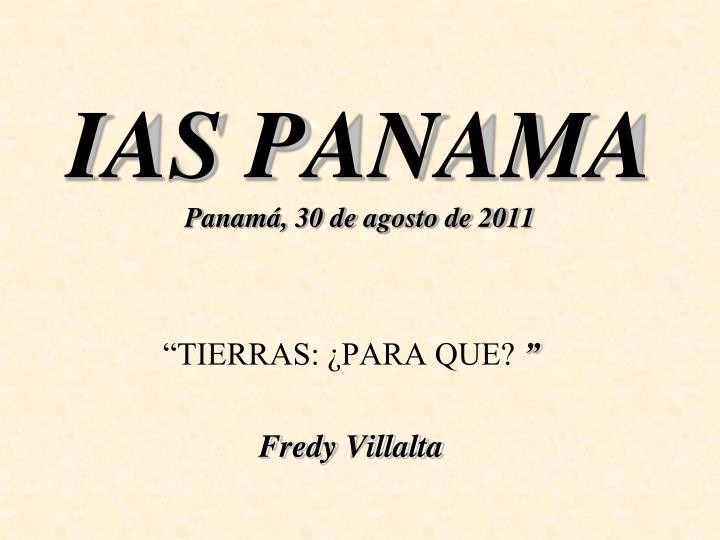 IAS PANAMA