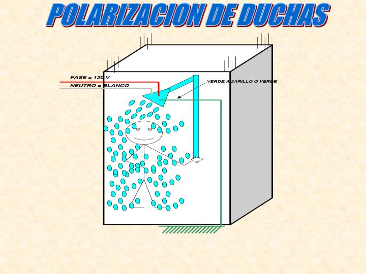 POLARIZACION DE DUCHAS