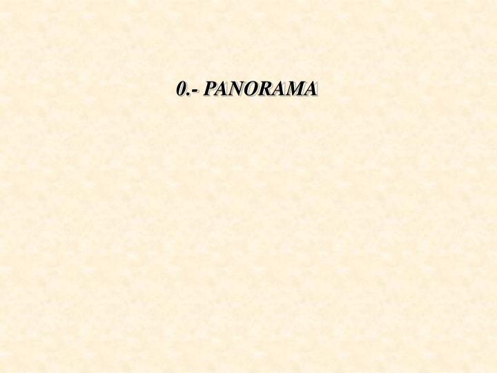0.- PANORAMA
