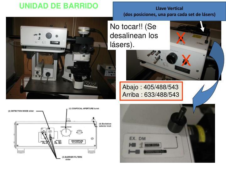 UNIDAD DE BARRIDO