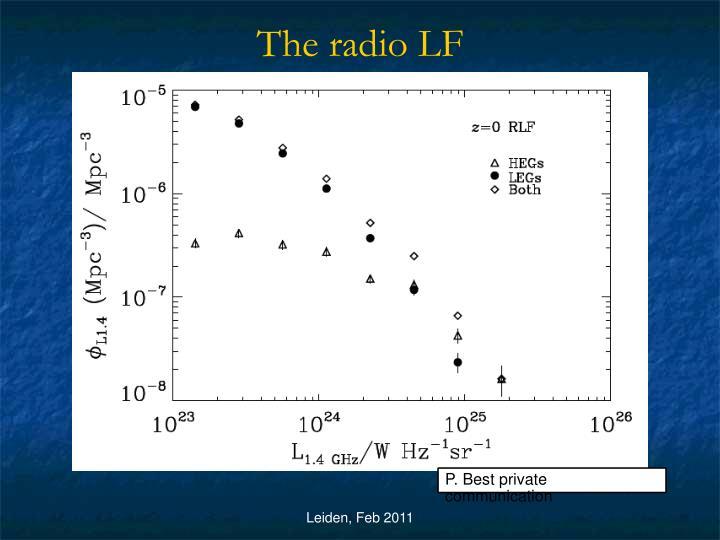 The radio LF