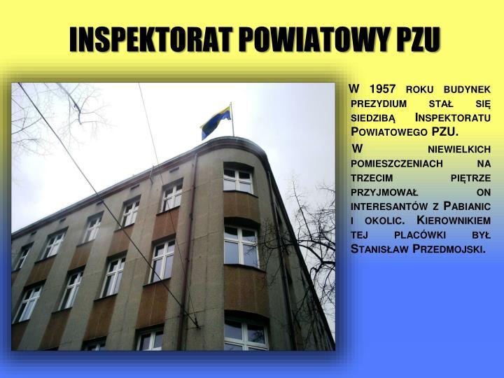 Inspektorat Powiatowy PZU
