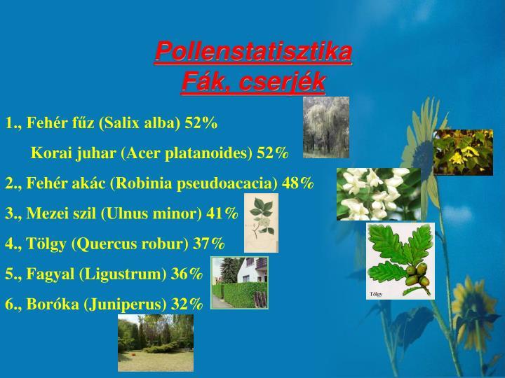 Pollenstatisztika