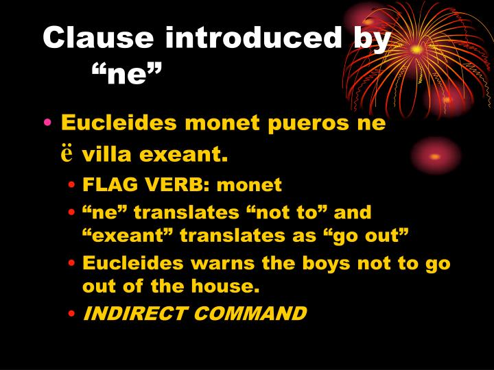 "Clause introduced by ""ne"""