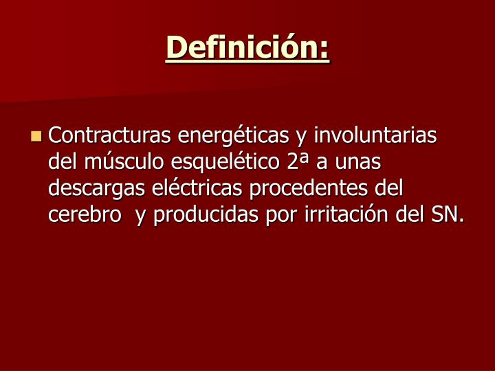 Definicin: