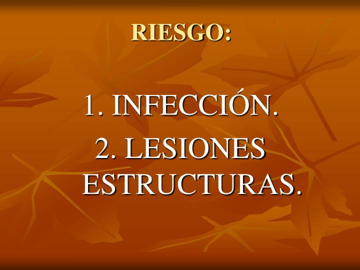 RIESGO: