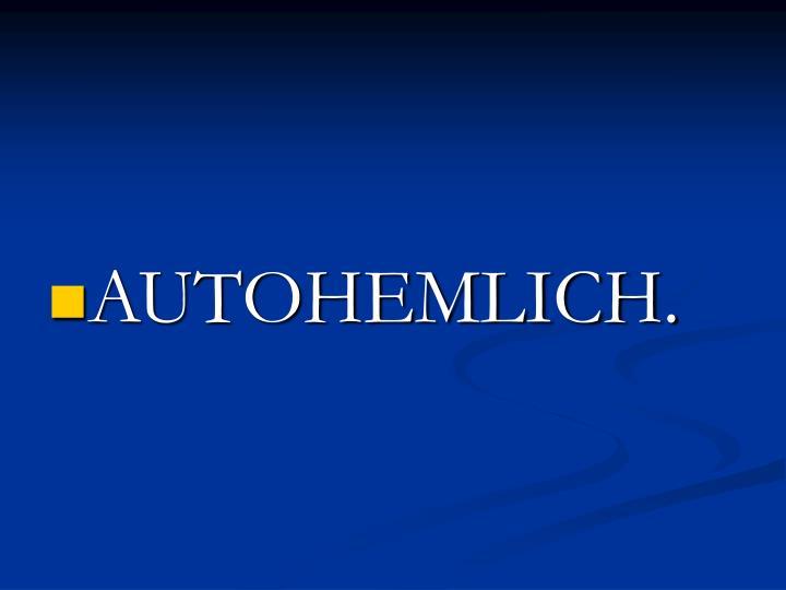 AUTOHEMLICH.