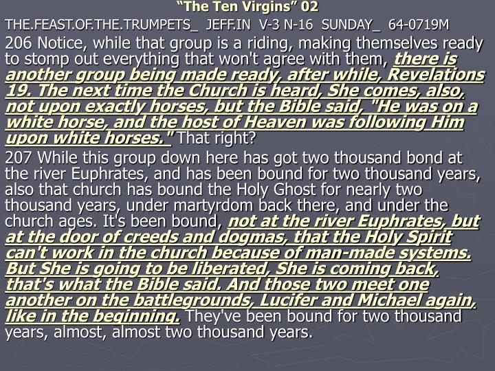 """""""The Ten Virgins"""" 02"""