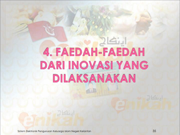 4. FAEDAH-FAEDAH