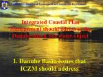 1 danube basin issues that iczm should address