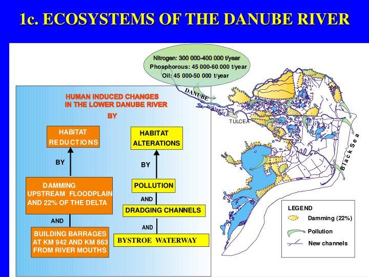 1c. ECOSYSTEMS OF THE DANUBE RIVER