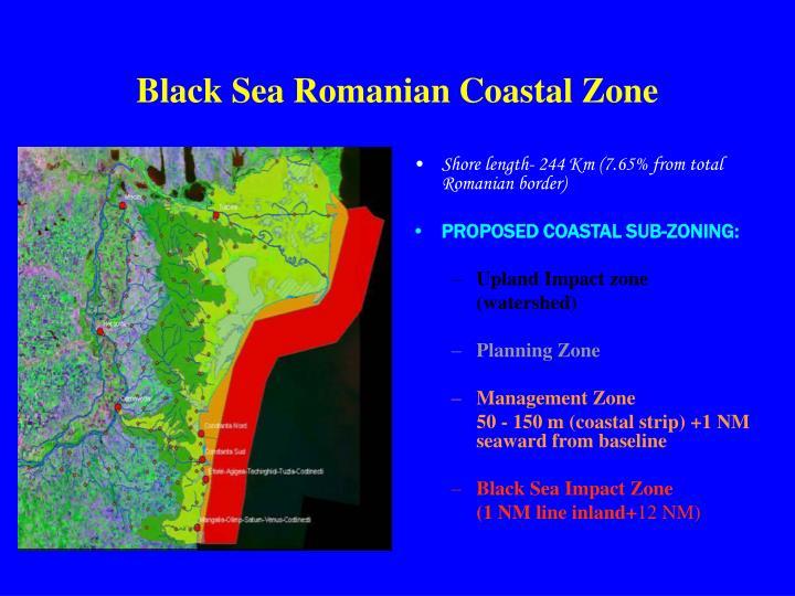 Black Sea Romanian Coastal Zone