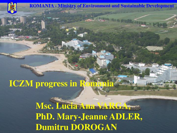 ROMANIA - Ministry of Environment and Sustainable Development