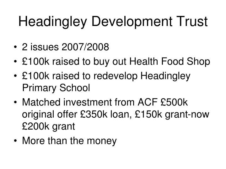 Headingley Development Trust