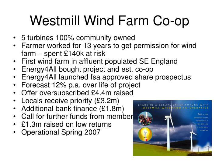 Westmill Wind Farm Co-op