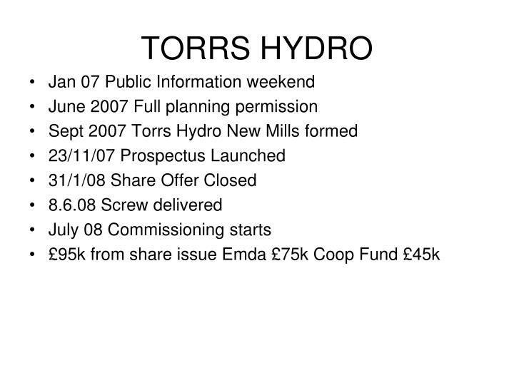 TORRS HYDRO