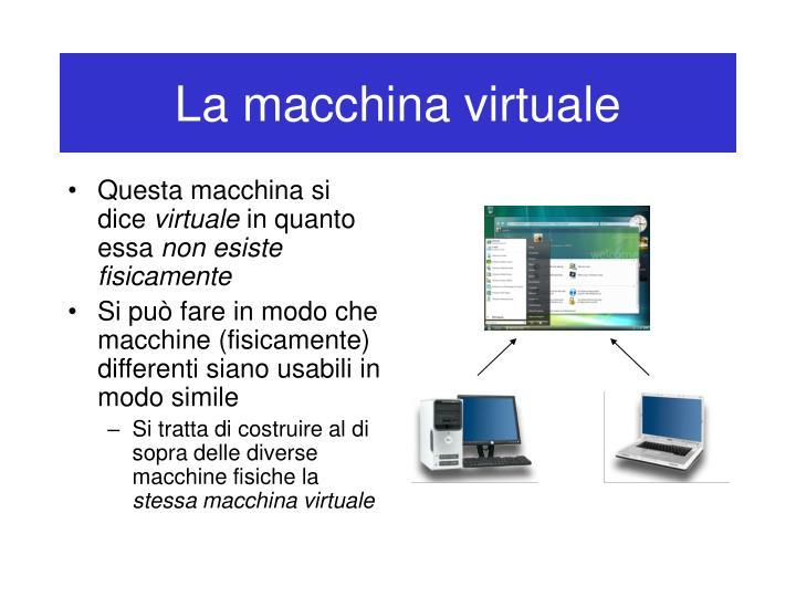 La macchina virtuale