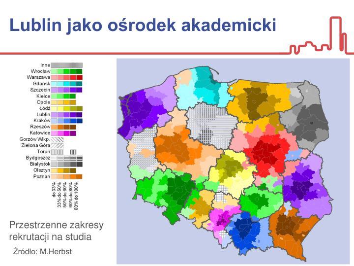 Lublin jako ośrodek akademicki