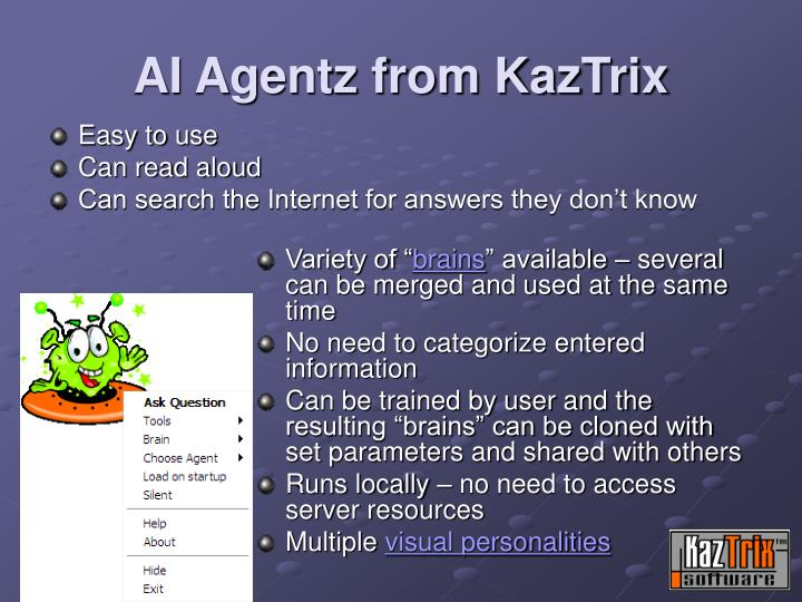 AI Agentz from KazTrix