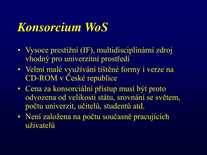 Konsorcium WoS