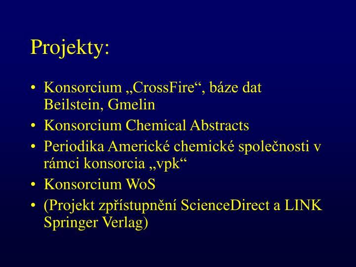 Projekty: