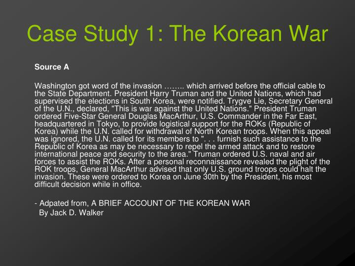 a study on the korean war Official website for studying in korea run by the korean government information about language courses, universities, scholarships, job vacancies, online application.
